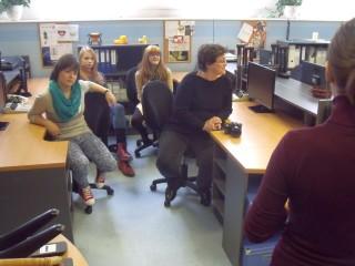A Magyar Újságírók Romániai Egyesületének látogatása